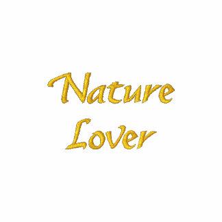 Camiseta bordada linda del amante de naturaleza