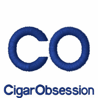 Camiseta bordada obsesión del cigarro