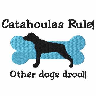 Camiseta bordada regla de Catahoulas