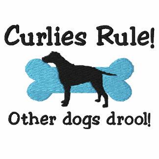 Camiseta bordada regla de Curlies