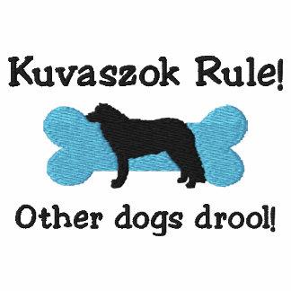 Camiseta bordada regla de Kuvaszok