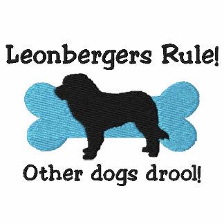Camiseta bordada regla de Leonbergers