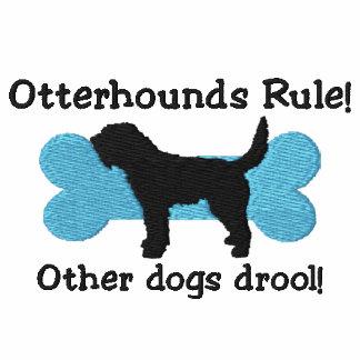 Camiseta bordada regla de los Otterhounds