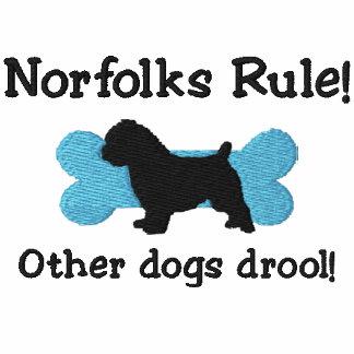 Camiseta bordada regla de Norfolks