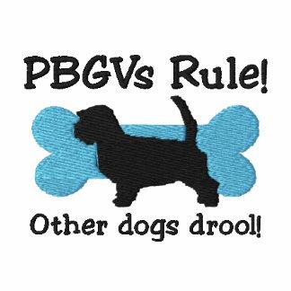 Camiseta bordada regla de PBGVs