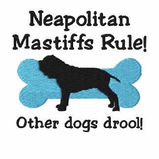 Camiseta bordada regla napolitana de los mastines