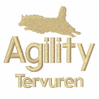 Camiseta bordada Tervuren del belga de la agilidad