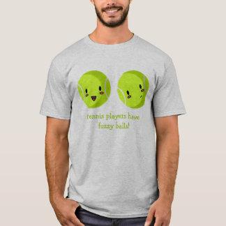 Camiseta borrosa de las bolas
