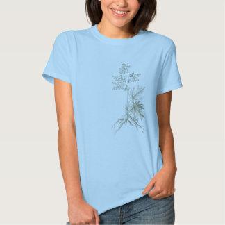 Camiseta botánica poleras