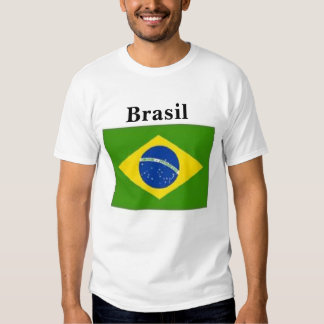 Camiseta brasileña playeras