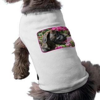 Camiseta Brindle del perro de perrito del mastín Ropa De Mascota