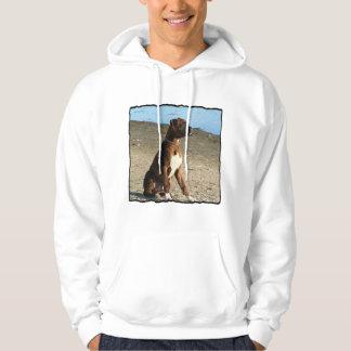 Camiseta Brindle del perro del boxeador Sudaderas