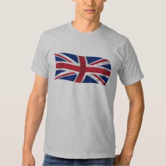 Camiseta británica de la bandera de Union Jack Camisas