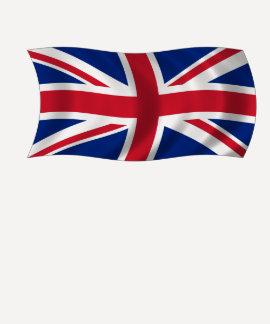 Camiseta británica de la bandera de Union Jack Remera