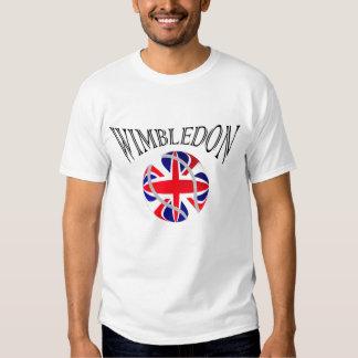 Camiseta BRITÁNICA de la bandera del tenis de Wimb Playeras