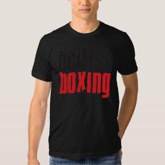 Camiseta británica del boxeo playeras