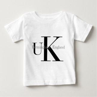 Camiseta BRITÁNICA del texto de Birmingham Playera