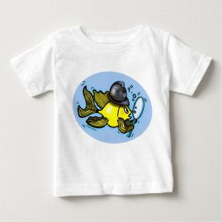 Camiseta británica divertida de los pescados del