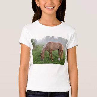 Camiseta brumosa de la yegua de la mañana