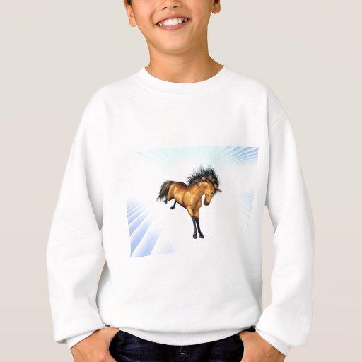 Camiseta Bucking de la juventud del unicornio Polera