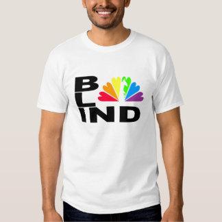 Camiseta burro-cariñosa CIEGA del pavo real Remeras