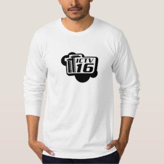 Camiseta cabida de largo envuelta para hombre camisas