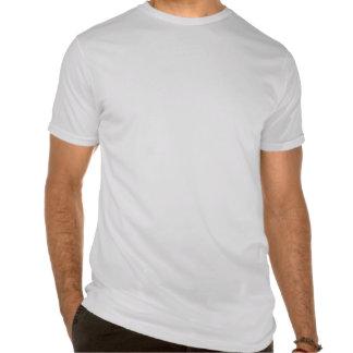 Camiseta cabida del cuello barco de los hombres