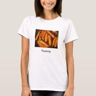 Camiseta cabida deliciosa de las salchichas
