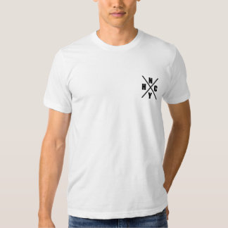 Camiseta cabida incondicional de Nueva York Playera