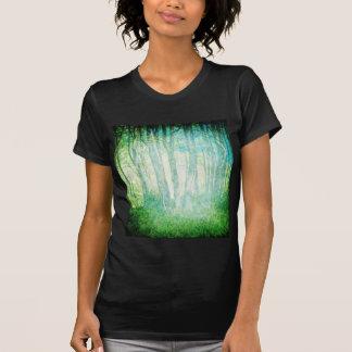Camiseta cabida maderas del Grunge Playeras