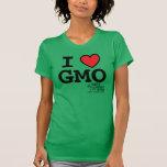 Camiseta cabida MAMyths de I <3 GMO