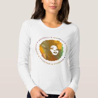 Camiseta cabida manga larga de Afrobella Remera