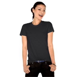 Camiseta cabida orgánica de la flecha ideal de las