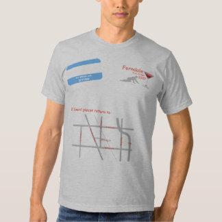 Camiseta cabida playeras
