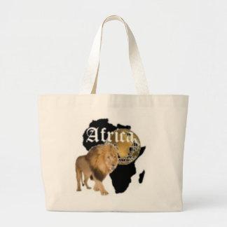 """Camiseta caliente de la bandera de """"África"""", y etc Bolsas Lienzo"""
