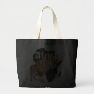 """Camiseta caliente de la bandera de """"África"""", y etc Bolsa"""