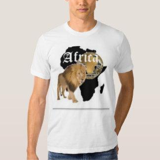 """Camiseta caliente de la bandera de """"África"""", y etc Polera"""