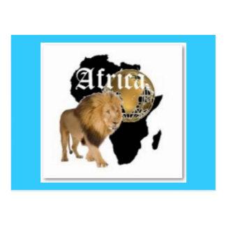 """Camiseta caliente de la bandera de """"África"""", y etc Postal"""