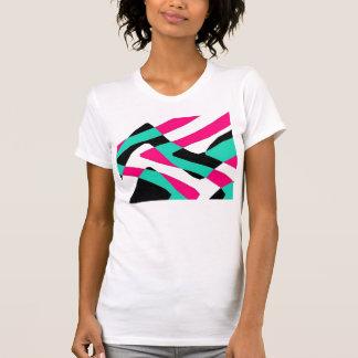Camiseta cambiante de los carriles camisas