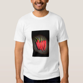 Camiseta candente del adulto de los chiles polera