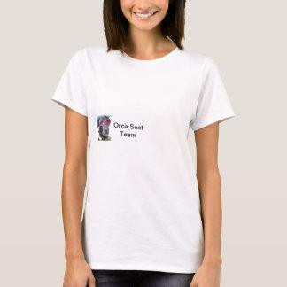 Camiseta canina de la orca de la protección