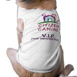 Camiseta canina del perro del VIP del ciudadano Ropa Para Mascota