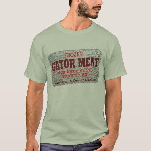 Camiseta - carne del cocodrilo