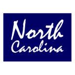 CAMISETA Carolina del Norte Tarjetas Personales