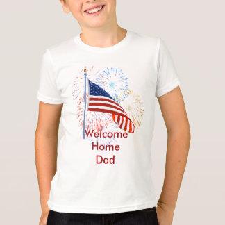 Camiseta casera agradable de las tropas playera