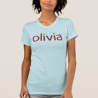 Camiseta casual clásica de la cucharada de Olivia Playeras