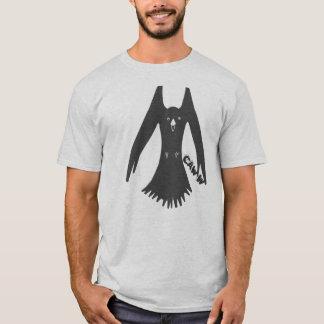 Camiseta Cawing de cernido del cuervo
