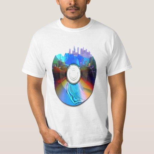 Camiseta CD destruida Playera