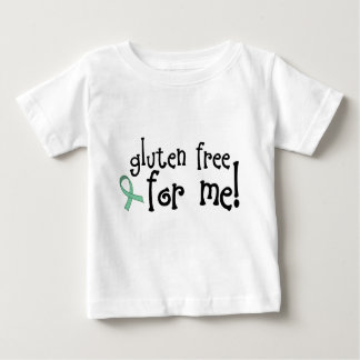 Camiseta celiaca libre del bebé del gluten