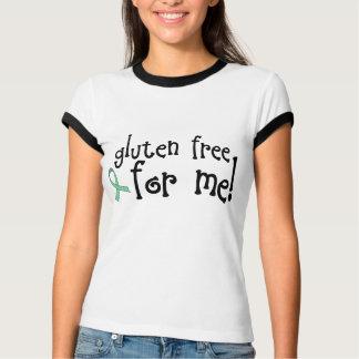 Camiseta celiaca libre del gluten playeras
